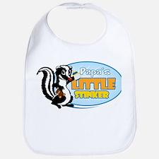 Papa's Little Stinker Bib