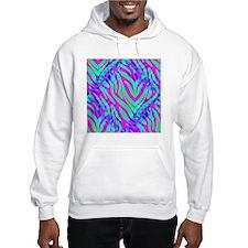 Zebra Print Fun Hoodie