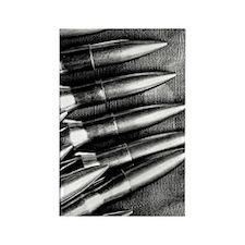 Rifle Ammo Rectangle Magnet