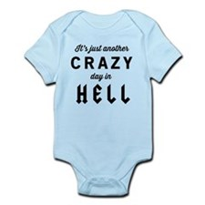 It's just another CRAZY day in HELL Body Suit