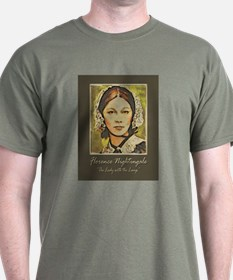 The Lady with the Lamp T-Shirt
