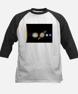 Scale Solar System Planets Baseball Jersey