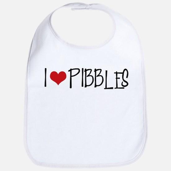 I Love Pibbles! Bib