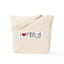 I Love Pibbles! Tote Bag