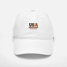 vintage colorized flag USA since 1776 Baseball Baseball Baseball Cap