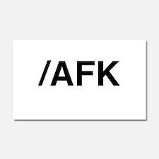 AFK Car Magnet 20 x 12