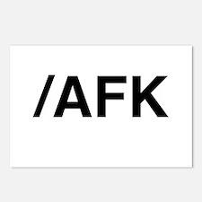 AFK Postcards (Package of 8)