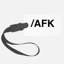 AFK Luggage Tag