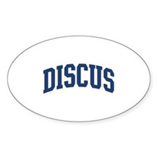 Discus Decal