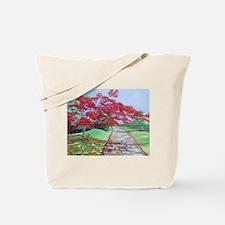 El Camino del Flamboyan Tote Bag