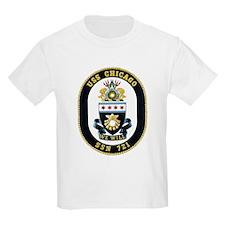 USS Chicago SSN-721 T-Shirt