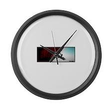 Cute Kacie Large Wall Clock