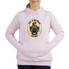 USS O'BANNON Women's Hooded Sweatshirt