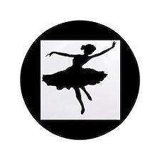 """Ballerina  3.5"""" Button"""