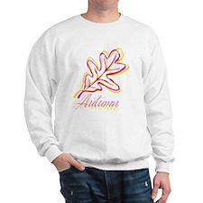 Funny Falling leaf Sweatshirt