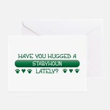 Hugged Staby Greeting Cards (Pk of 10)