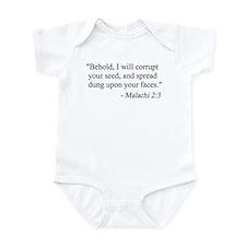 Malachi 2:3 Infant Creeper