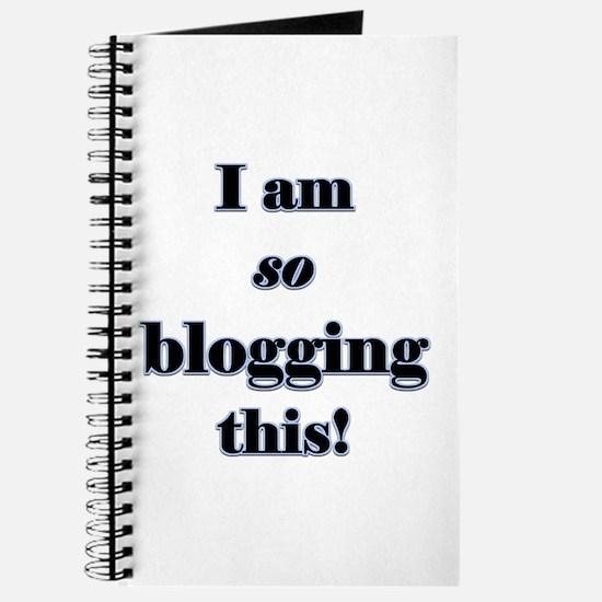 Blogging This Journal