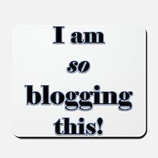 Blogging This Mousepad