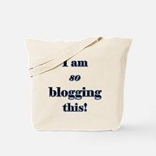 Blogging This Tote Bag