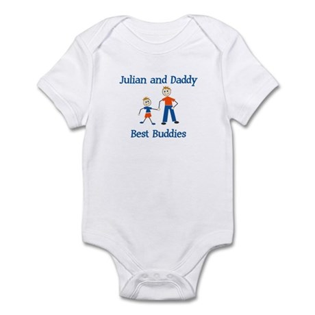 Julian & Daddy - Best Buddies Infant Bodysuit
