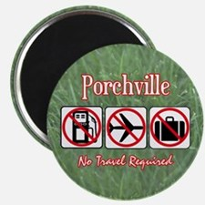 No Travel Required Magnet