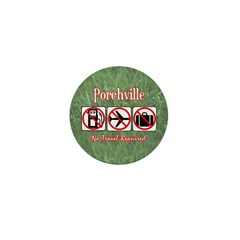 No Travel Required Mini Button (100 pack)