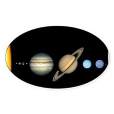 Scale Solar System Planets Decal