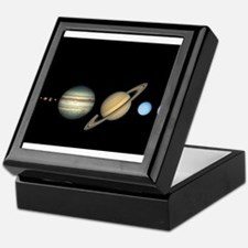 Scale Solar System Planets Keepsake Box
