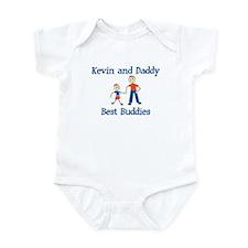 Kevin & Daddy - Best Buddies Infant Bodysuit