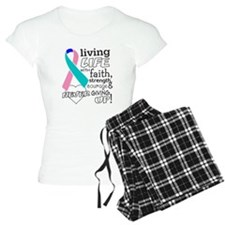 Thyroid Cancer Courage Pajamas