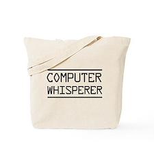 Computer whisperer Tote Bag