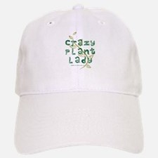 Crazy Plant Lady Baseball Baseball Cap