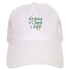 Crazy Plant Lady Baseball Cap