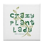 Crazy Plant Lady Tile Coaster