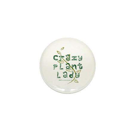 Crazy Plant Lady Mini Button (100 pack)