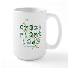 Crazy Plant Lady Ceramic Mugs