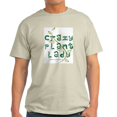 Crazy Plant Lady Light T-Shirt