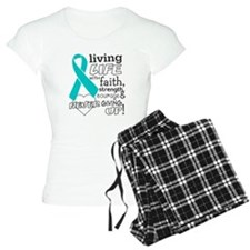 Ovarian Cancer Courage Pajamas
