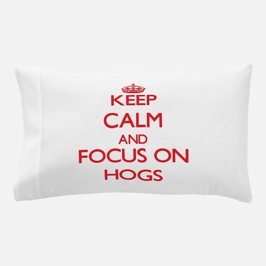 Cute Hogs Pillow Case