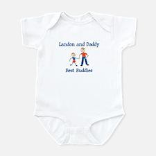Landon & Daddy - Best Buddies Infant Bodysuit