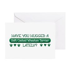 Hugged Wheaten Greeting Cards (Pk of 10)