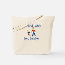 Liam & Daddy - Best Buddies Tote Bag
