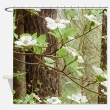 Funny Dogwoods Shower Curtain
