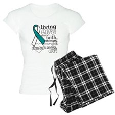 Cervical Cancer Courage Pajamas