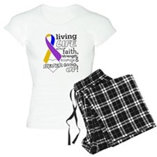 Bladder Cancer Courage Pajamas