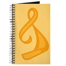 """Orange Ribbon Twist"" Journal"