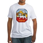 Snow Lion + Dharma Fitted T-Shirt