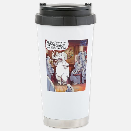 White Elephant Travel Mug