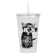 KITTEN ROAR Acrylic Double-wall Tumbler